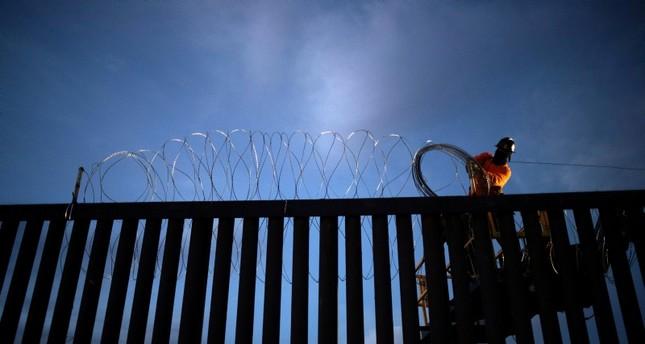 Migranten-Karawane kommt vor Grenze ins Stocken