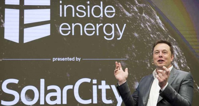 Elon Musk, CEO of SolarCity and Tesla Motors, speaks at SolarCity's Inside Energy Summit in New York last year. SolarCity built the most efficient solar panel in the industry for transforming sunlight into electricity.