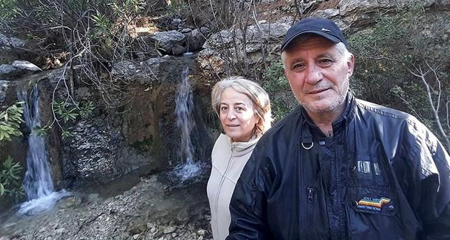 Aysin L and Ali Büyüknohutçu. DHA Photo