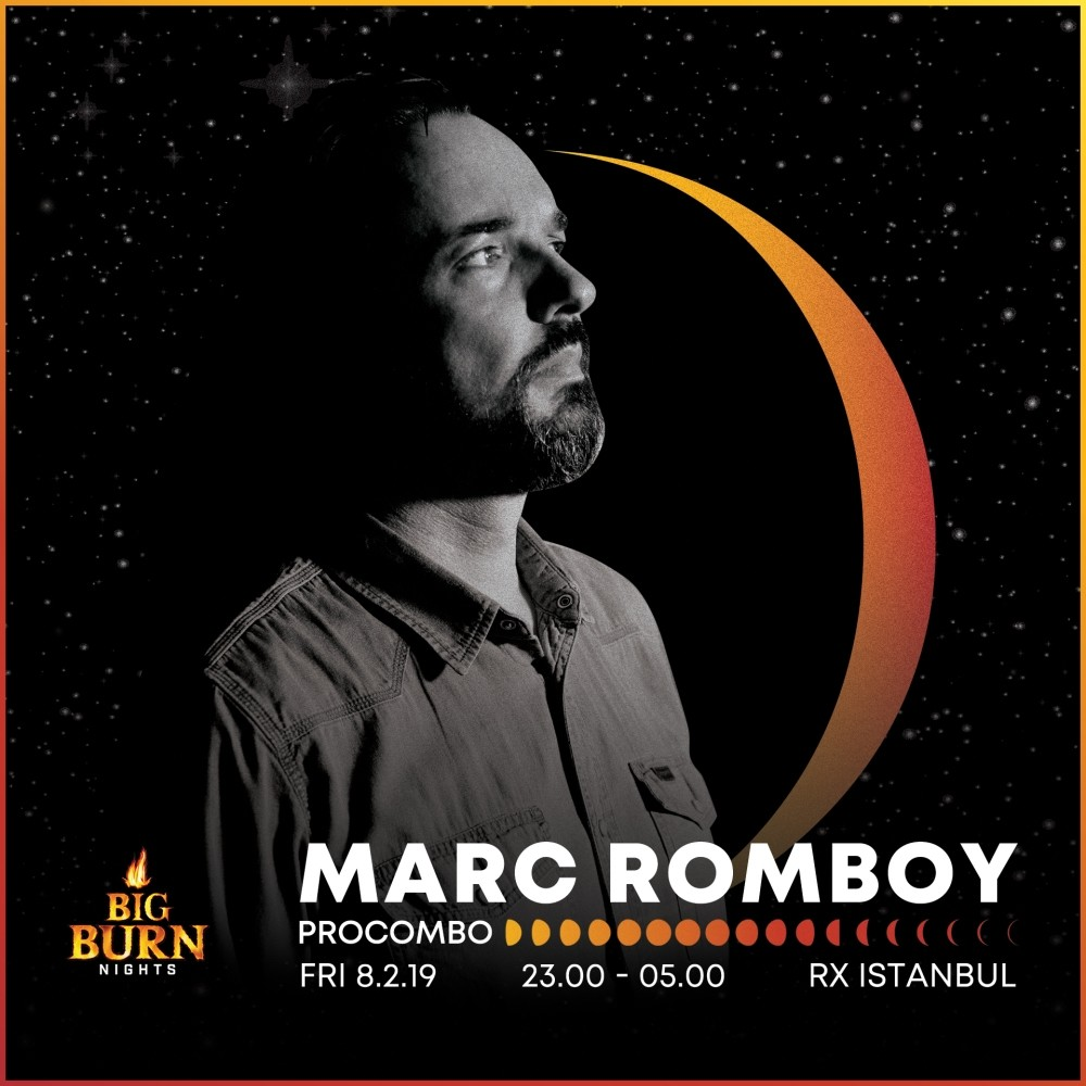 Marc Romboy will perform at Istanbul RX on Feb. 8.