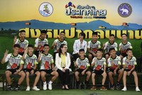 Thai youth football team recounts rescue in first media appearance