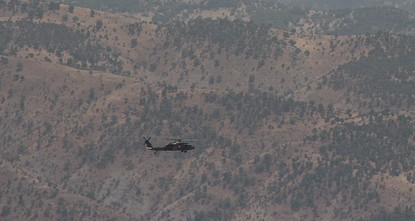 pAt least 23 PKK terrorists have been killed in airstrikes in Turkey's east and northern Iraq in the last 24 hours, the Turkish military said Sunday./p