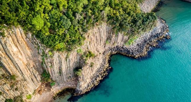 منحدرات بركانية ساحرة على البحر الأسود وجهة سياحية جديدة في تركيا