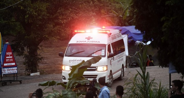 تايلاند.. 6 من أطفال الكهف المغمور بالمياه يتمكنون من الخروج