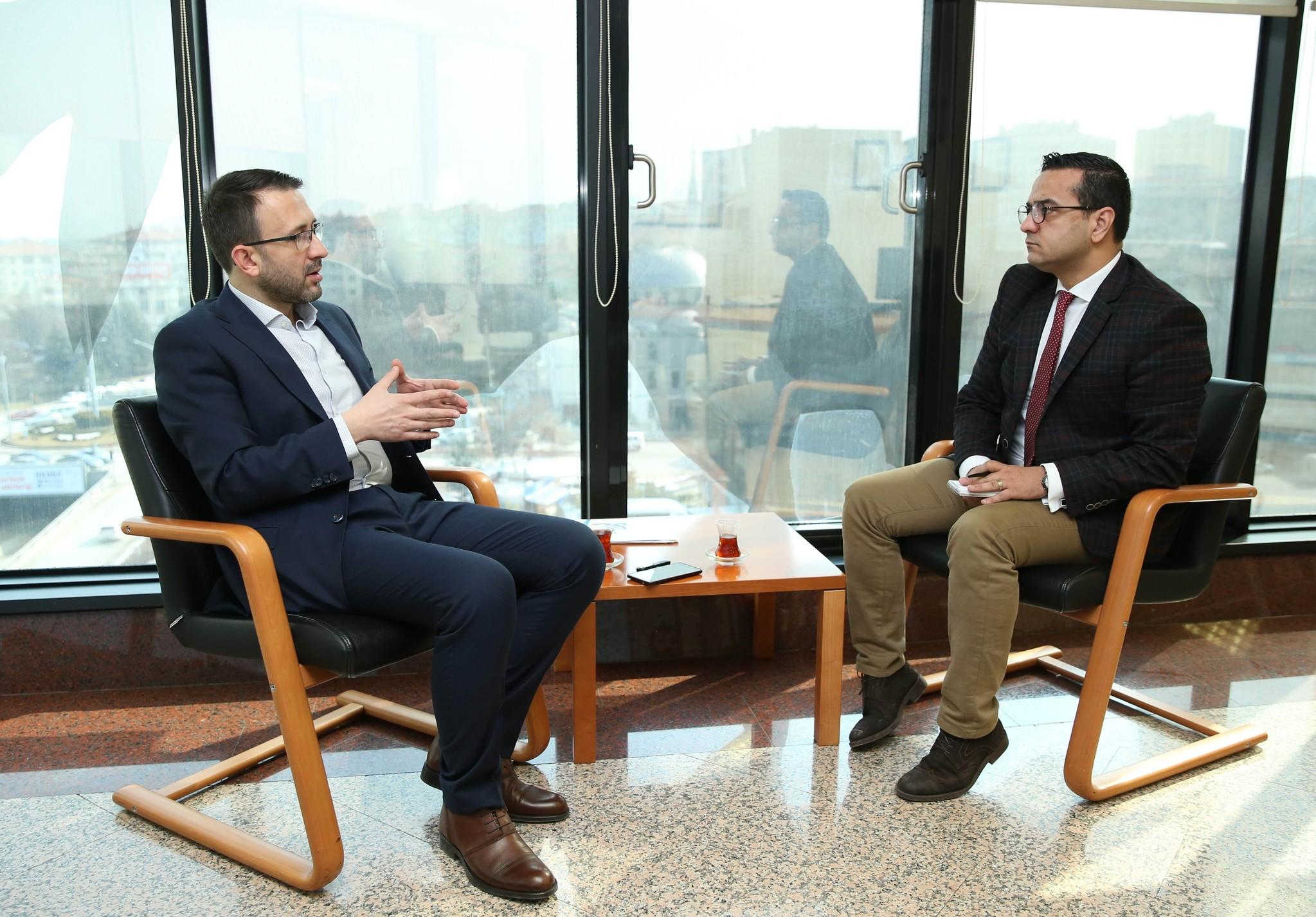 Mehmet Murat Pu00f6steki (L) said the support for u201cYesu201d is over 60 percent in eastern Anatolia and predominantly Kurdish-populated southeastern Anatolia.