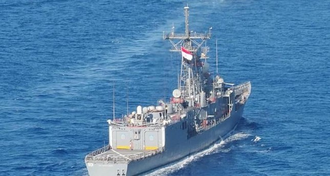 مناورات بحرية مصرية باكستانية في البحر المتوسط