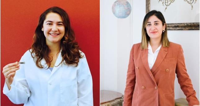 Gözde Durmuş (L) and Duygu Yılmaz (R). (FILE Photos)