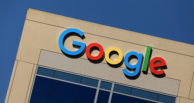 The Google logo is pictured atop an office building in Irvine, California, U.S., August 7, 2017. (Reuters Archive Photo)