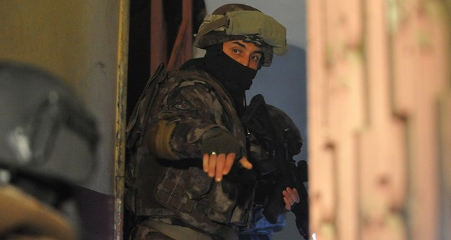 Anti-Daesh terror group operation in Bursa, Turkey, Dec. 28, 2017. DHA Photo