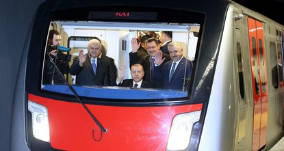 The Keçiören metro line in the Turkish capital Ankara, the construction of which lasted for more than a decade due to the sloping land and unplanned construction in the region and which saw its...