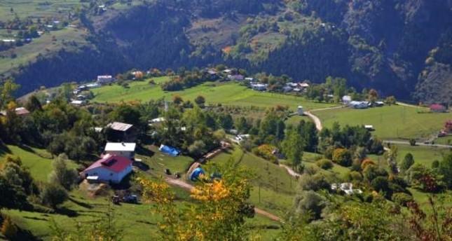 The endless green landscape of Şavşat is the jewel of the northeastern Black Sea region. AA