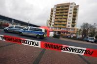 مكان الاعتداء العنصري اليوم في هاناو، ألمانيا رويترز