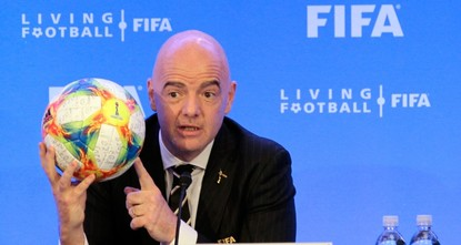 فيفا يوصي برفع عدد المنتخبات المشاركة بمونديال قطر إلى 48
