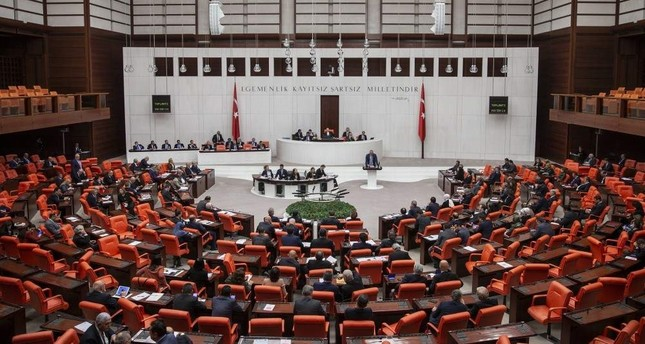 A general view of the Grand National Assembly of Turkey. AA Photo