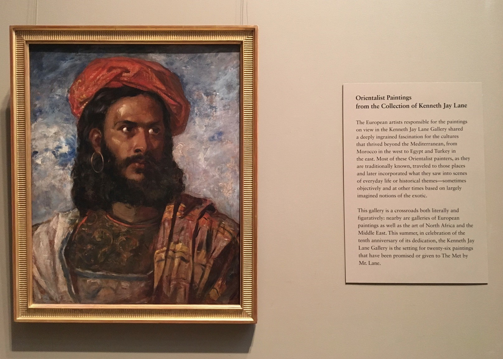 The 26 artworks from the Orientalist Paintings from the collection of Kenneth Jay Lane tell the history of the Metu2019s earliest acquisitions.