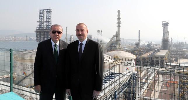 Erdoğan, Aliyev inagruate SOCAR refinery in Izmir