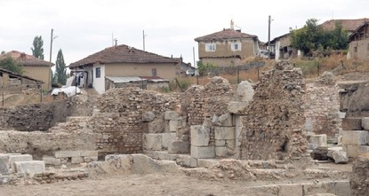 Ancient bath unearthed in city of Sebastopolis