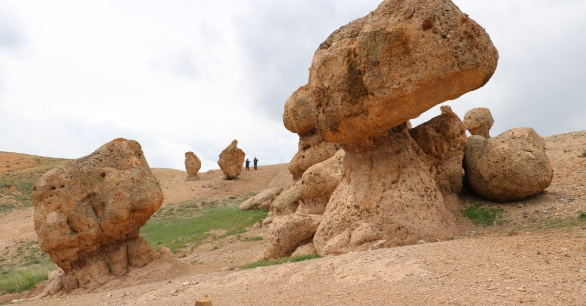 Strange rock formations in Sivas have been a source of myths and stories for decades.