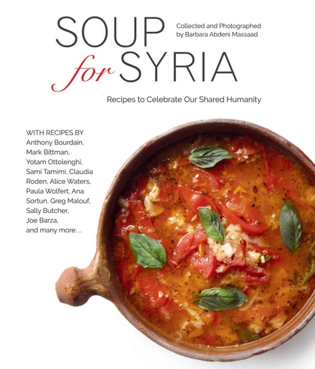 Proceeds of soup recipe book to benefit Syrian refugees