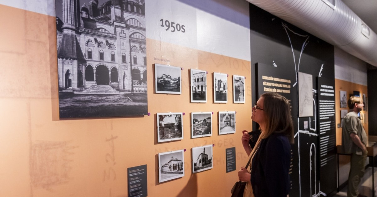 The exhibition displays a rich archive created between 1956 and 2000.