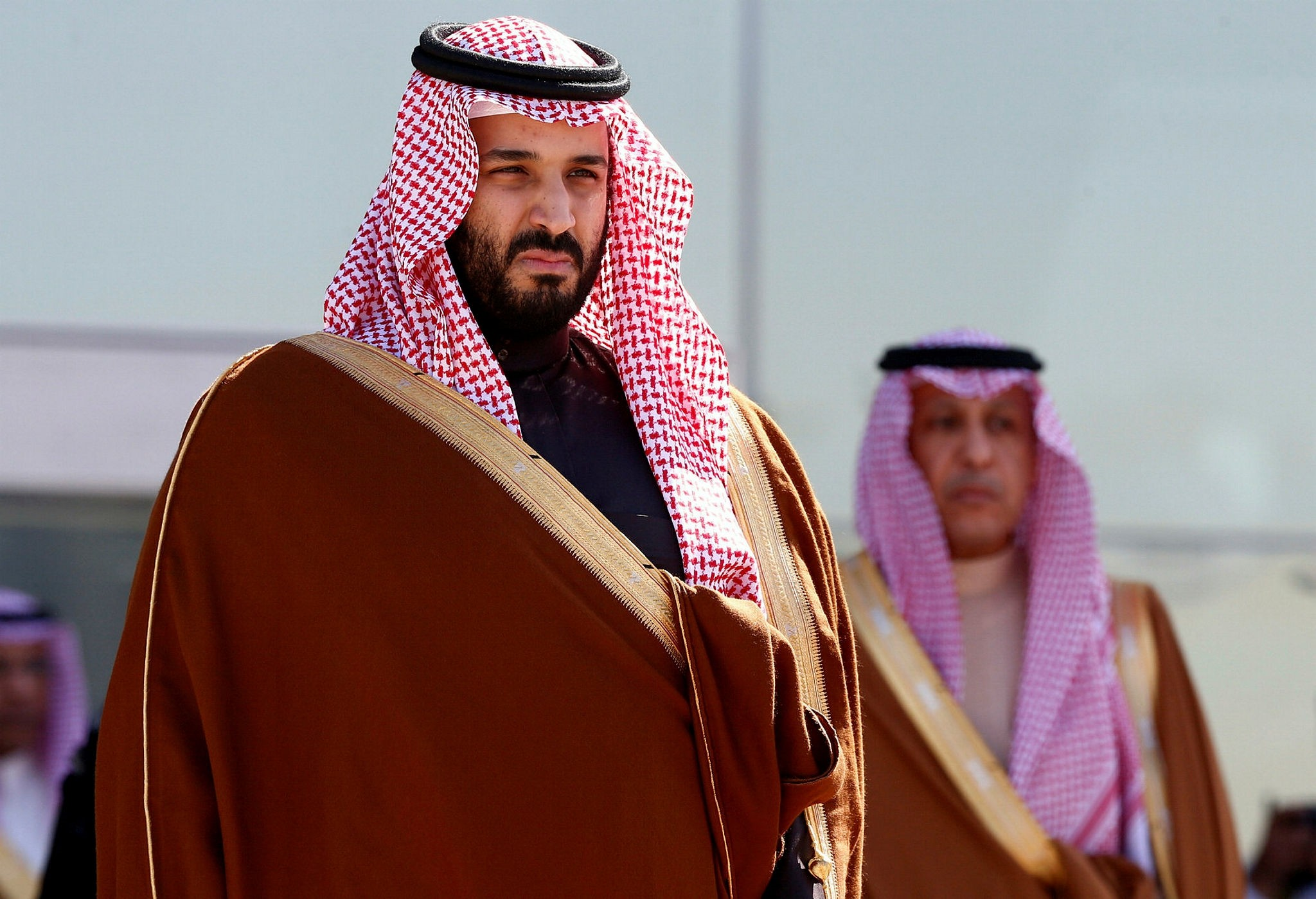 FILE PHOTO: Saudi Deputy Crown Prince Mohammed bin Salman attends a graduation ceremony and air show marking the 50th anniversary of the founding of King Faisal Air College in Riyadh, Saudi Arabia, January 25, 2017. (Reuters Photo)