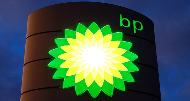 The logo of BP is seen at a petrol station in Kloten, Switzerland, Oct. 3, 2017. Reuters Photo