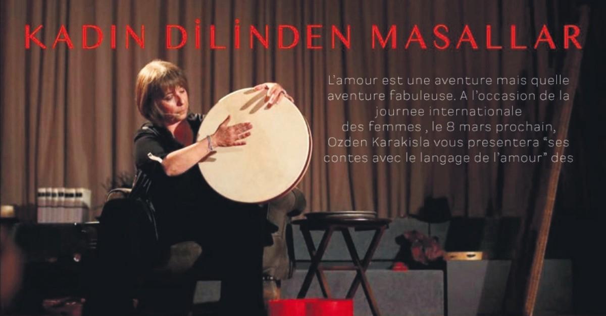 u00d6zden Karaku0131u015fla will mesmerize spectators with her solo performance in ,Kadu0131n Dilinden Masallar.,