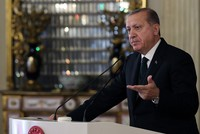 Ankara harshly criticized the U.S.'s continued support to the Syrian Democratic Forces (SDF), which is predominantly led by the People's Protection Unit (YPG), the Syrian affiliate of the PKK...