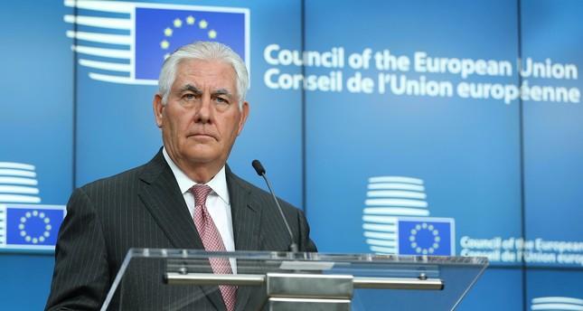 تيلرسون: سنباشر فورا تطبيق قرار نقل سفارتنا إلى القدس