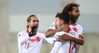 Turkey beat Andorra 2-0 in last match of Euro 2020 qualifiers