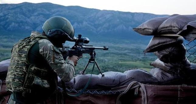 خلال عملية جنوب شرقي البلاد.. تحييد عنصرين من منظمة بي كا كا الإرهابية