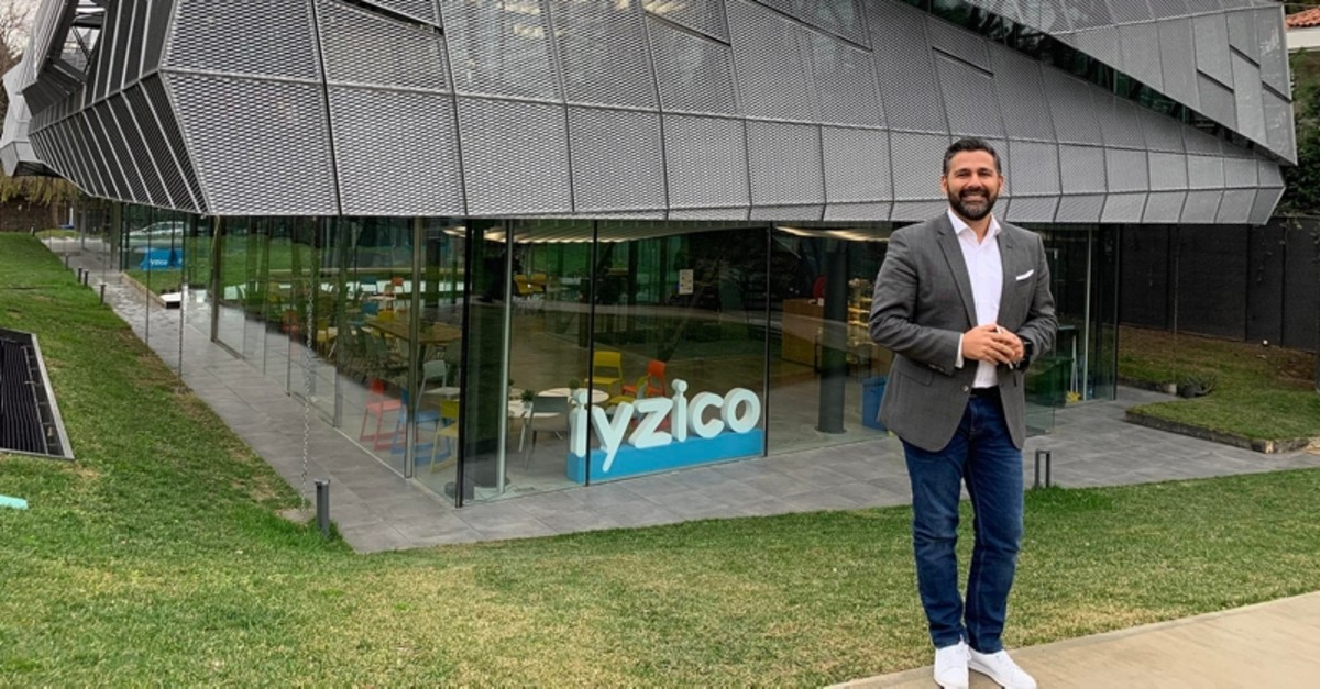 Iyzico co-founder and CEO Barbaros u00d6zbuu011futu (Sabah File Photo)