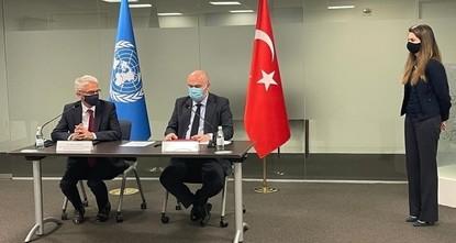 اتفاق تركي أممي على نقل مكتب تنسيق الشؤون الإنسانية من جنيف إلى إسطنبول