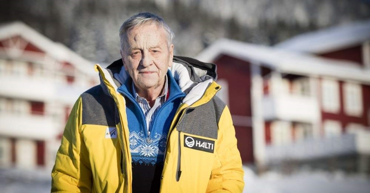 Gian-Franco Kasper poses during a press conference at the 2019 FIS Alpine Skiing World Championships, Are, Feb. 4, 2019. (EPA Photo)