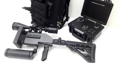 """pDie türkische Technologiefirma """"Harp Arge (R&D) entwickelte eine neue elektromagnetische Anti-Drohnen-Waffe für den internationalen Markt und begann mit ihrem..."""