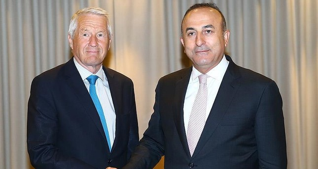 FM Çavuşoğlu, Council of Europe head Jagland hold phone call amid tension over PACE decision