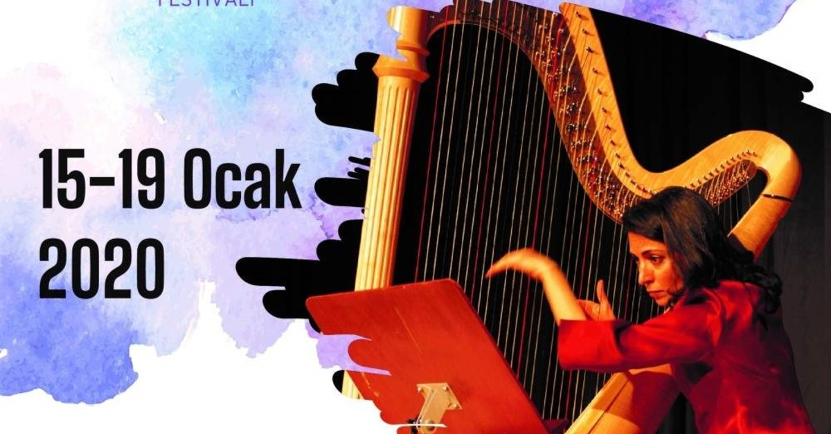 The Harp Festival will be held for the first time in Turkey.