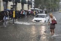 Record rainfall, storm hit Turkey's Istanbul, disrupts traffic