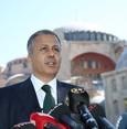 والي إسطنبول يؤكد استمرار الاستعدادات لإقامة صلاة الجمعة في جامع آيا صوفيا الكبير