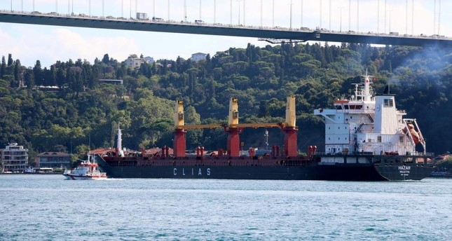 Bosporus and Çanakkale straits saw 15 maritime accidents in 2019, according to data. DHA Photo