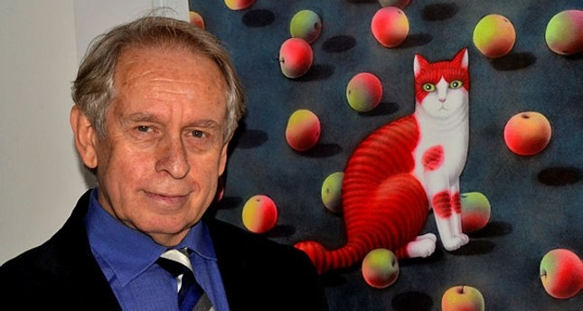 Feline art: Gifted cartoonist's cats on display in Antalya