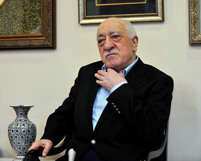 Gu00fclenist Terror Organization leader Fethullah Gu00fclen speaks to members of the media at his compound, Sunday, July 17, 2016, in Saylorsburg, PA, US. (AP Photo)