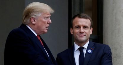 Macron fordert mehr Respekt von Trump