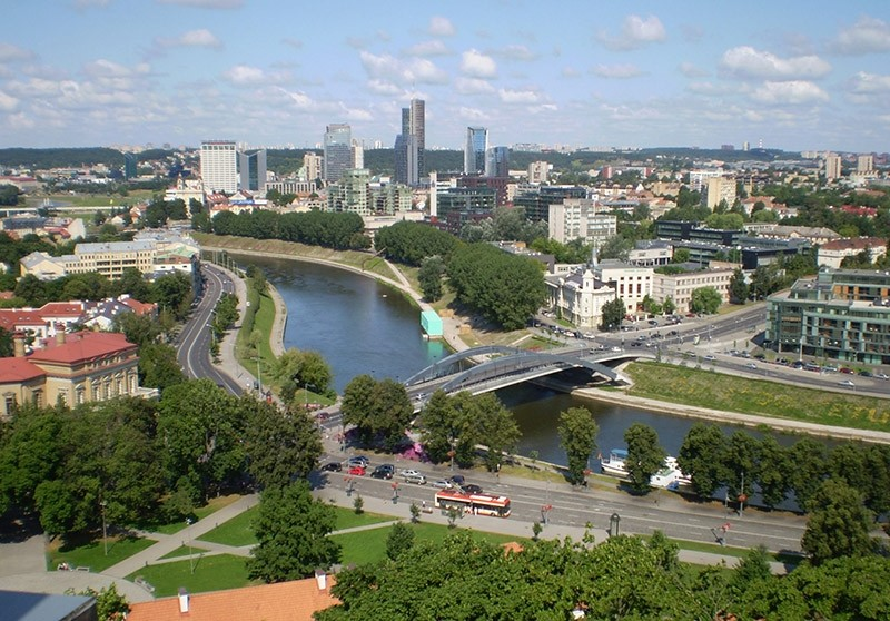 A view on Vilnius, capital of Lithuania. (File Photo)