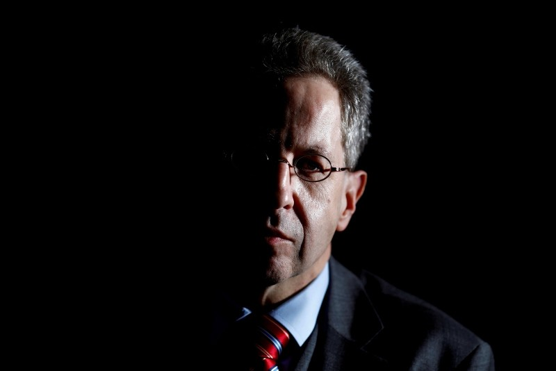Hans-Georg Maassen, President of the Federal Office for the Protection of the Constitution, Germany's domestic security agency attends a Reuters interview in Berlin, Germany January 30, 2018. (Reuters Photo)