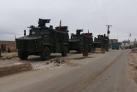 Turkey, Russia conduct first coordinated patrols in Syria's Tel Rifat