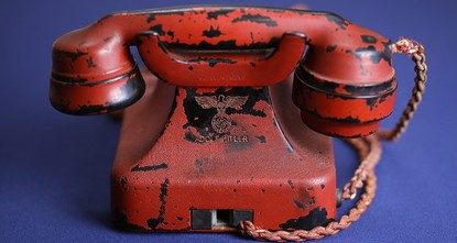 pA telephone owned by Adolf Hitler has sold at auction for $243,000./p  pAndreas Kornfeld of Alexander Historical Auctions has said the phone sold Sunday afternoon to a person who bid by phone....