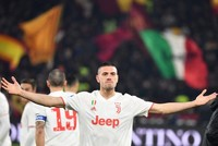 Demiral, Ronaldo lead Juventus to top with Roma win