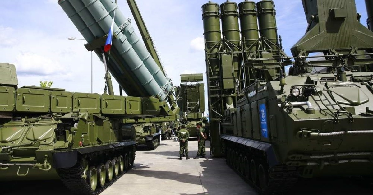 Turkey is carrying out negotiations with Russia for the second consignment of the S-400 missile defense system. An agreement is expected to be signed by April 2020. (AA Photo)
