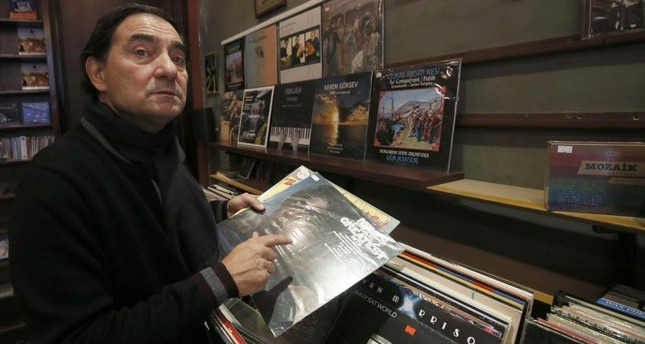 Atala said he never sold a record at Lale Plak before listening to it first. AA Photo